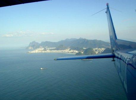 Saindo do Rio de Janeiro, rumo ao nordeste brasileiro.