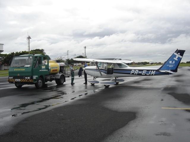Abastecimento em Uberlândia-MG.