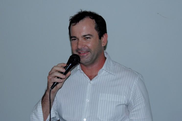 Comandante Josué de Andrade - Diretor da Escola.