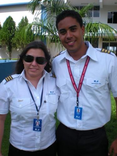 Ana Paula e Alfredo Correa. Sejam bem vindos à Equipe EJ.
