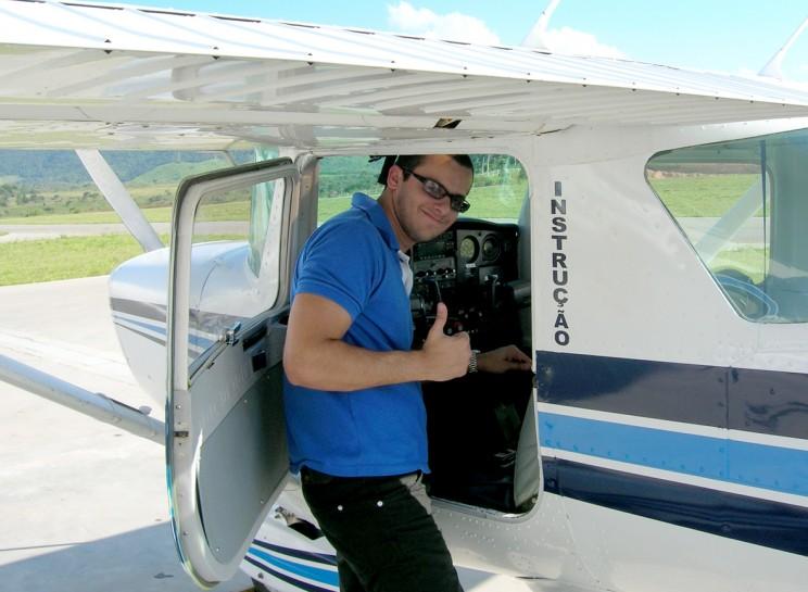 Cheque de abandono na aeronave.