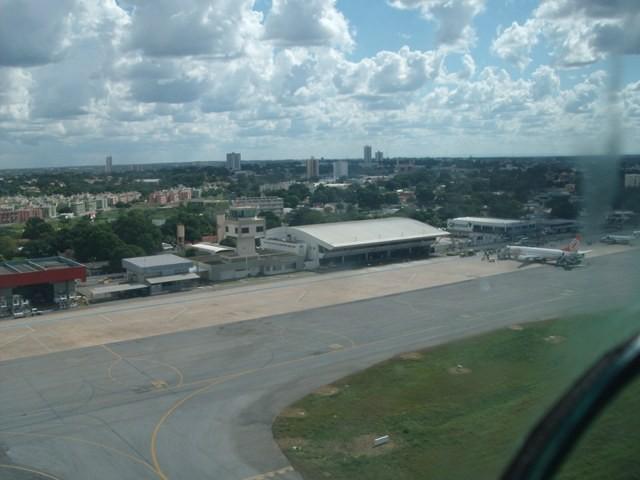 Aeroporto de Cuiabá-MT.