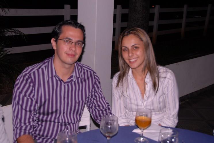 aluno Ricardo e sua esposa