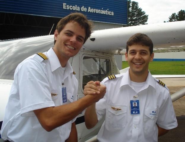 Douglas e Fabrício, os mais novos instrutores contratados pela EJ.