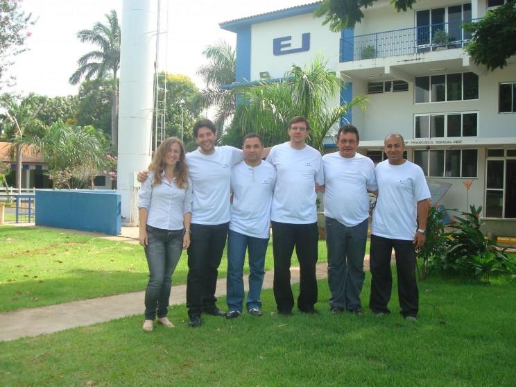Turma do curso Intensivo de Inglês Técnico Dezembro/2009.