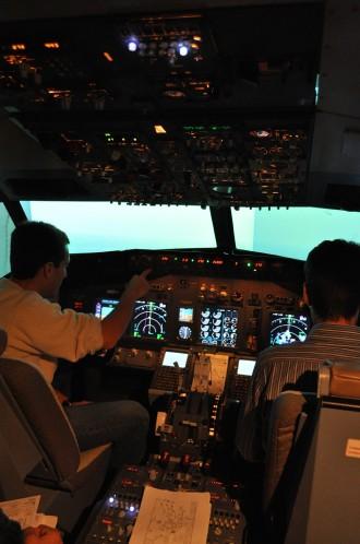 Parte do treinamento do Jet Trainer.