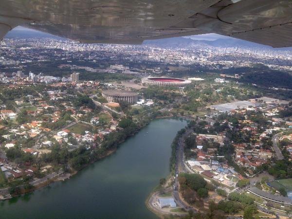 Mineirão e Lagoa da Pampulha