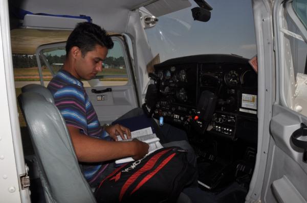Manoel Carlos, planejamento para voo solo de PPA