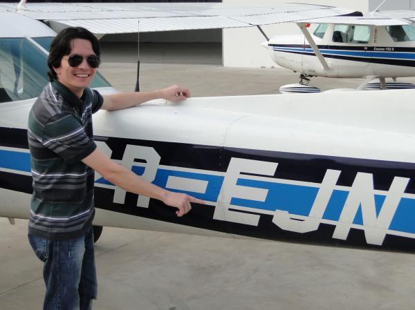 Essa foi minhas boas vindas à Aviação: PR-EJN!