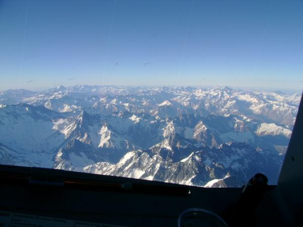 Cordilheira dos Andes - A320