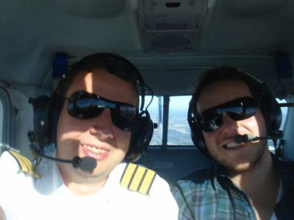 Navegação com o Ex aluno Rodrigo Duque