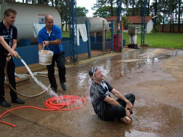 Batismo após primeiro voo como INVA
