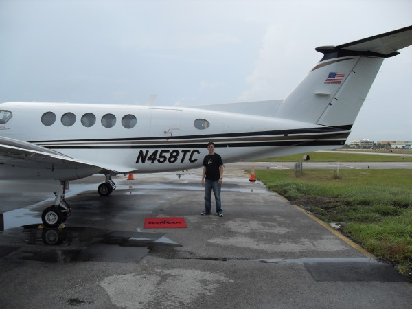 King Air B200 em Ft. Lauderdale