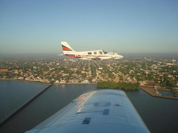 Dia do Aviador em Macapá-AP PT-RGO