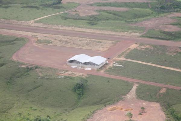 Aeródromo do Curiaú - Macapá -AP Rio Norte Táxi Aéreo