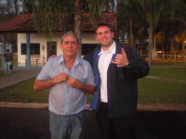 Carlomberto e instrutor Marcelo