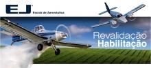 Aproveite as facilidade e revalide suas habilitações de voo na EJ.