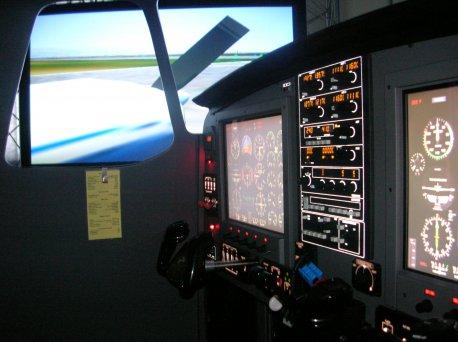 Foto Simulador IFR.