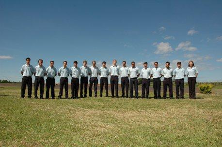 Foto geral dos Instrutores.