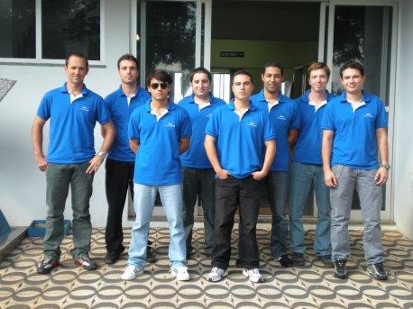 Alunos turma EJ Trainer 2008.