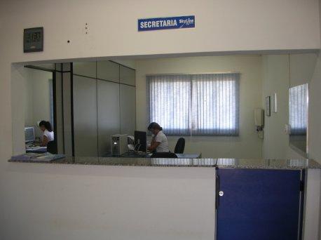 Secretaria e recepção