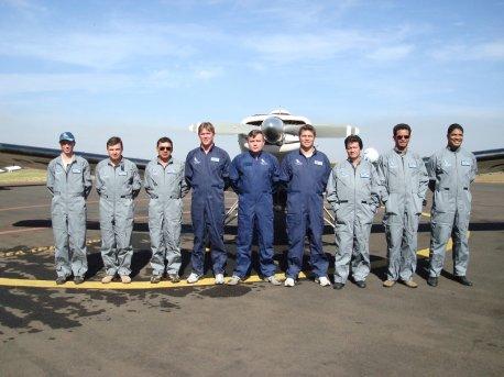 Formandos e Instrutores da 2ª turma de 2008