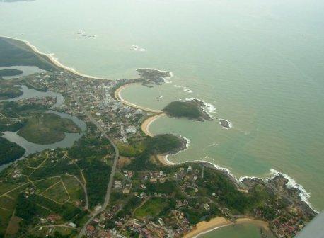 Do Rio para Vitória.