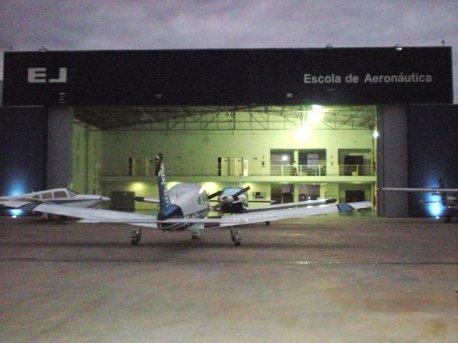Hangar da EJ em Jundiaí, local do evento.