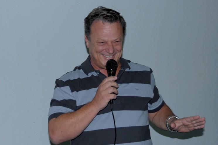 Comandante Edmir Gonçalves - Diretor da Escola.