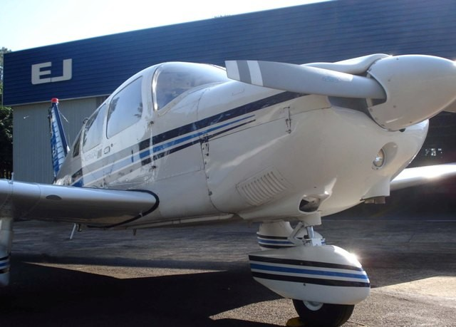 A nova aeronave Archer/Tupi.