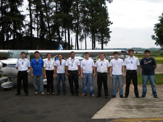 Conheçam os alunos e instrutores que participaram da navegação com destino à Ouro Fino - MG.