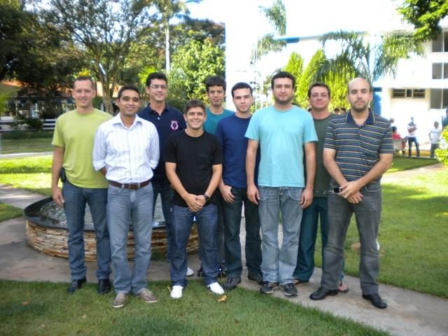 Alunos do Curso de Inglês Técnico.