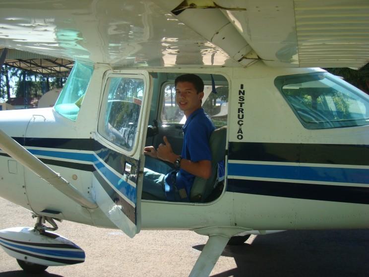 Fim do primeiro de muitos voos a realizar!
