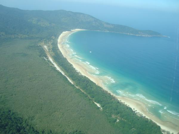 Praia de Lopes Mendes na Ilha Grande, Angra - RJ