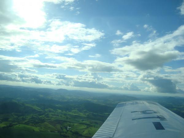 Voando em Minas...
