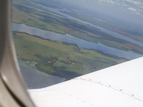 Sobre o Tietê em Ibitinga