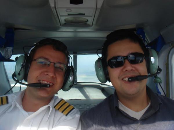 Navegação com o aluno Pedro Fujihara