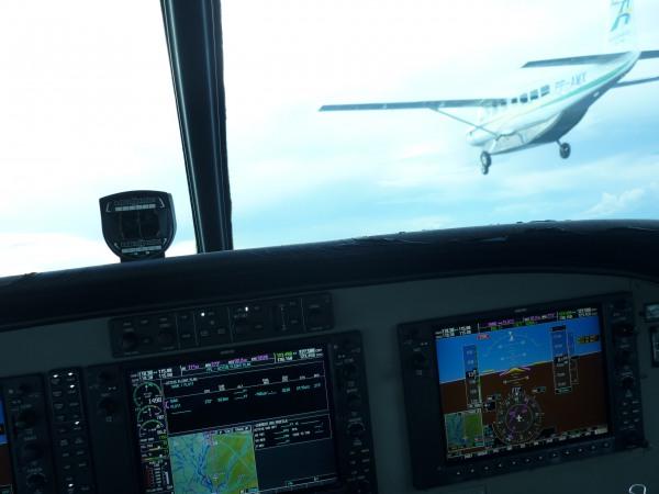 Caravan 208B G1000. Uma maravilha de aeronave com tecnologia de ponta.  Assim fica fácil de voar!!