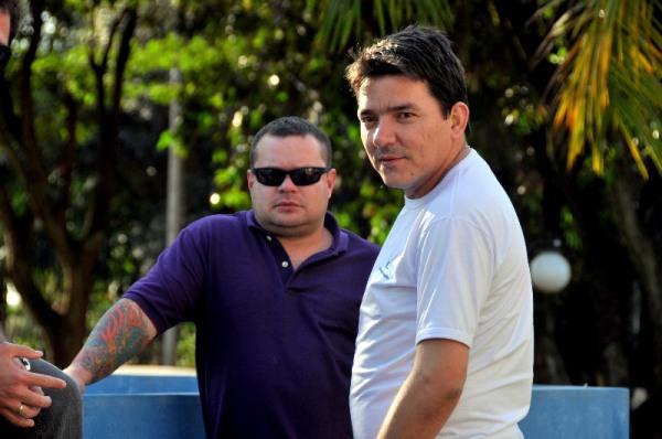 Rodrigo Rosa (azul) - PC Teórico - Nova Aurora - PR e Flávio Carrará (branco) - PC Teórico - Nova Santa Helena - MT