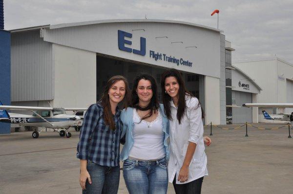 Mariana, Rafaela e Andréa