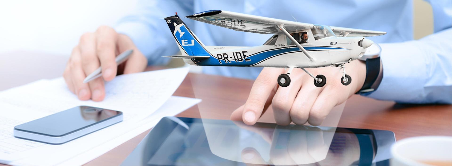 10477f26614c1 Ensino a distância   Cursos para Piloto   EJ - Escola de Aviação Civil